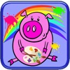Pig Coloring Game For Kids