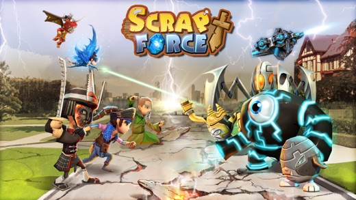Scrap Force - RPG Tactics Screenshot