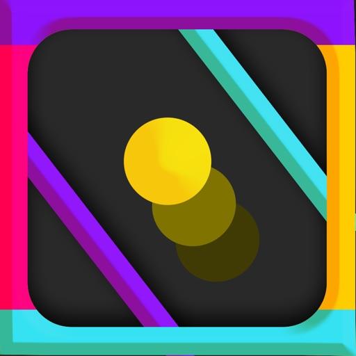Color Dash & Splash-Bouncy Ball in Color wheel 2D iOS App