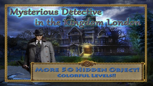 Hidden Object Mysterious Detective in the Kingdom London  Free Screenshot