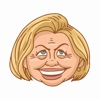 The President Stickers - Hillary