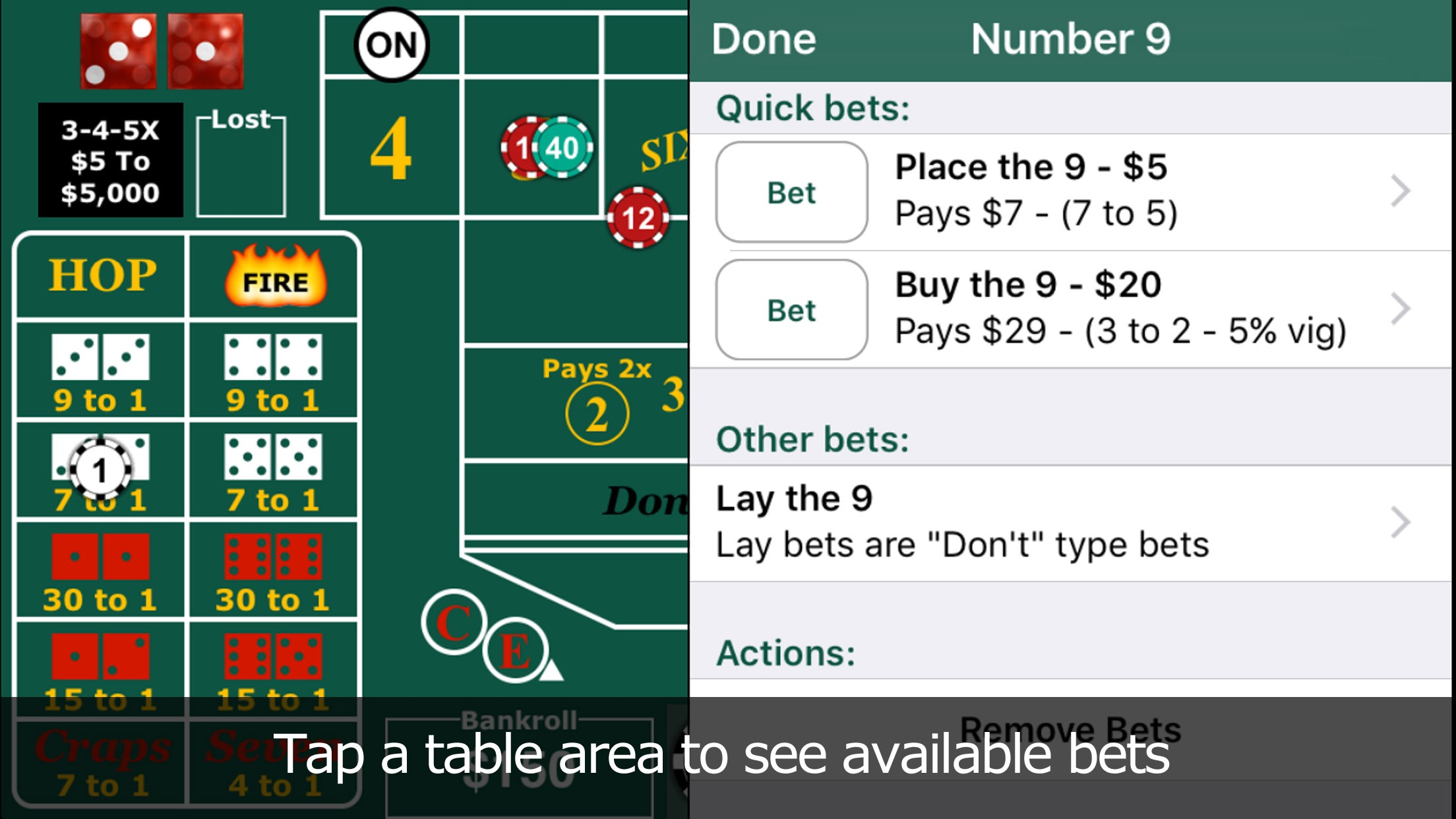 Delaware park blackjack minimum