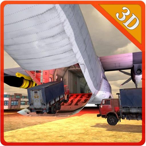 Cargo Airplane Truck Transport – Flying simulator Icon