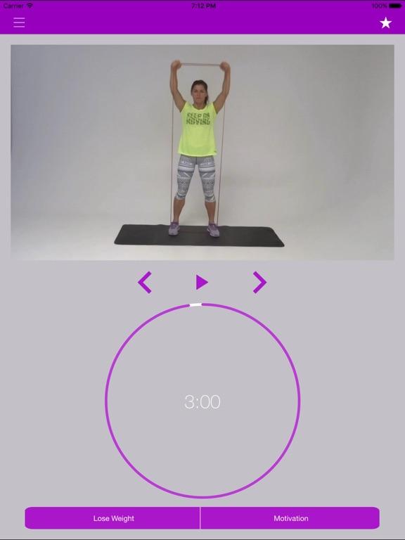 oefeningen fitness band