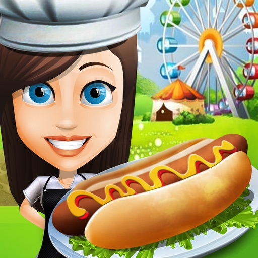 Theme Park Food Court Fever - Master-Chef Cooking iOS App
