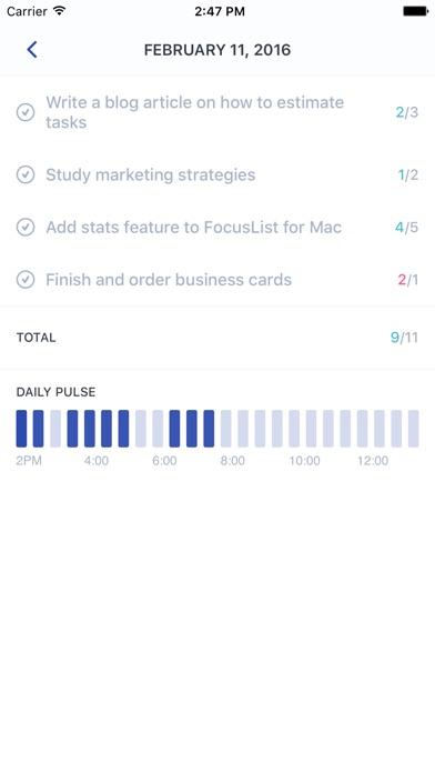 FocusList: Focus timer and daily planner Screenshot 4