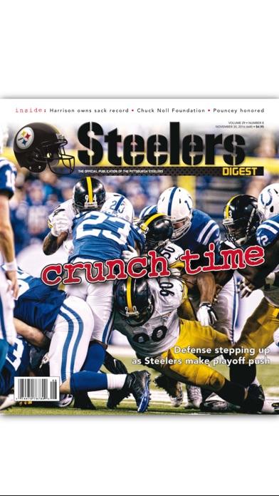 Steelers Digest review screenshots