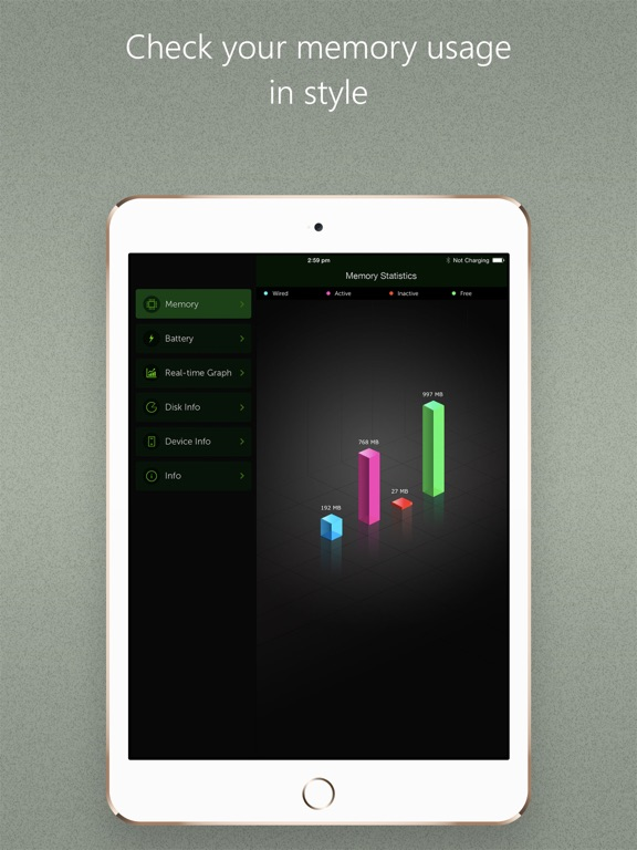 Screenshot #5 for Battery Max - With System Monitor Add-on