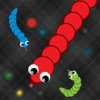 Snake and worm slither