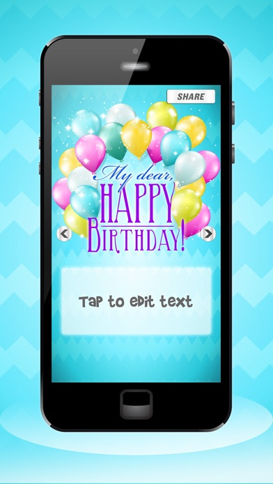 Happy birthday cards party invitation maker happy birthday cards party invitation maker screenshot on ios stopboris Image collections