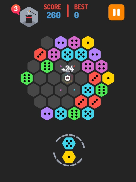 Merge Hexa Puzzle - Merged Block & Sudoku Quest на iPad