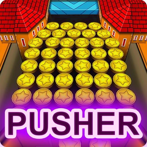 Coin Dozer Pusher Machine : Golden Coins Drop Park iOS App
