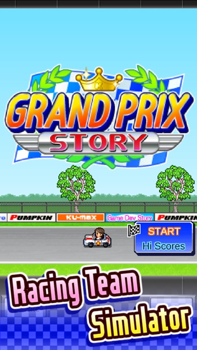 Screenshot do app Grand Prix Story