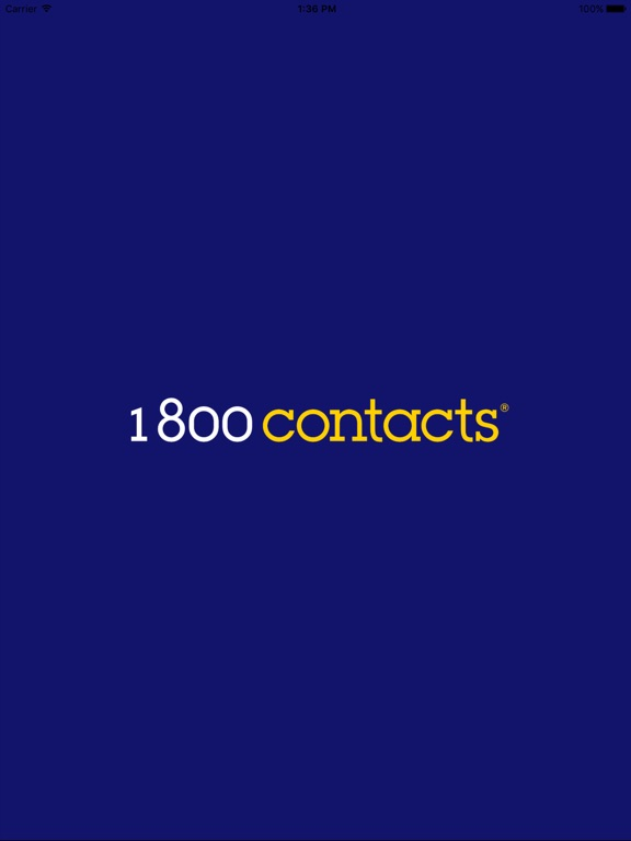 Screenshots of 1800 Contacts—Worlds Largest Contact Lens Store for iPad
