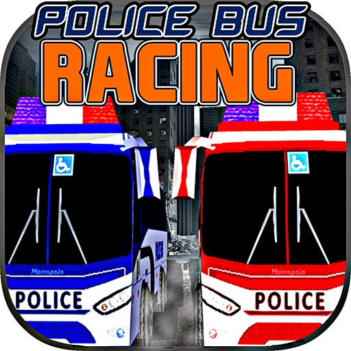 Police Bus Racing iOS App