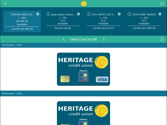 Heritage Credit Union for iPad on the App Store