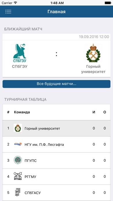 Студенческий футбол Санкт-ПетербургаСкриншоты 4