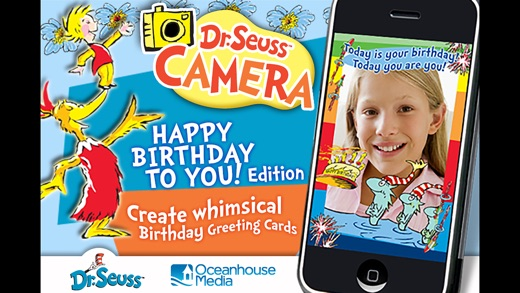Dr Seuss Camera Happy Birthday Edition on the App Store