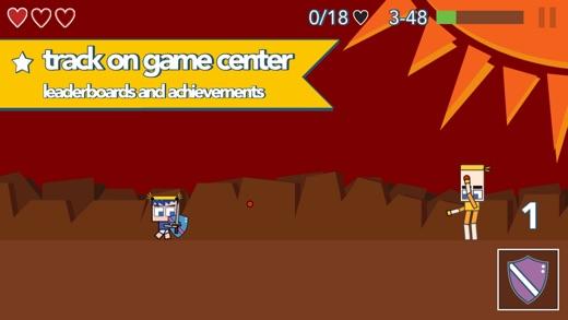 Mort's Minions Side Scroller Screenshot