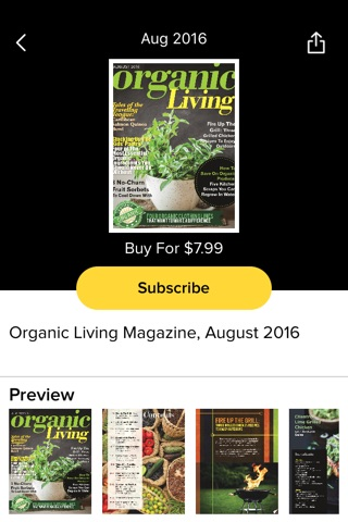 Organic Living Magazine screenshot 3