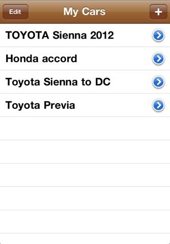 Simple MPG Tracker screenshot 3