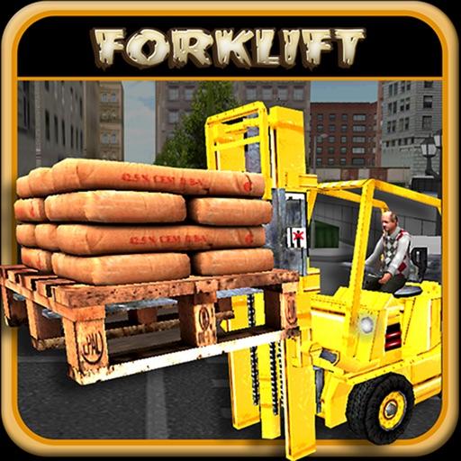 Diesel World: Forklift Machine Construction Challenge iOS App