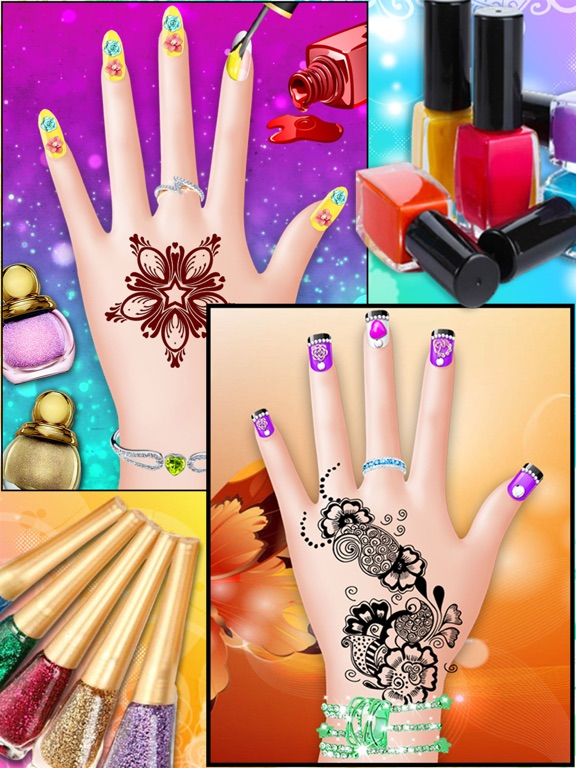 Mehndi design hand art and beauty salon games for girls on the ipad screenshot 2 prinsesfo Image collections