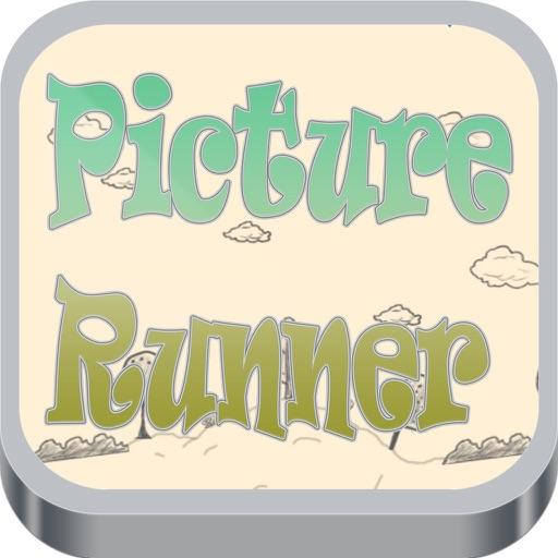 Picture Runner Stickman iOS App