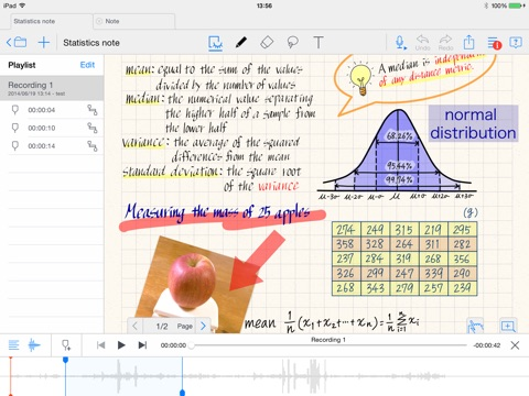 MetaMoJi Note - note taking and PDF annotation app Скриншоты7