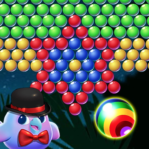 bubble shooter c