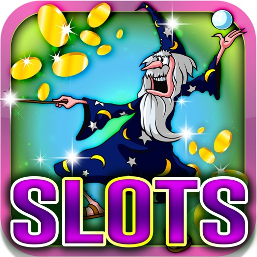 Magical Slot Machine: Earn digital witch potions iOS App