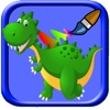 Baby Coloring Pages Dinosaur Game