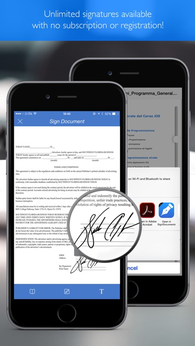 SignDocument Pdf pro Screenshots