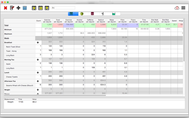 JXCirrus CalCount Lite for Mac