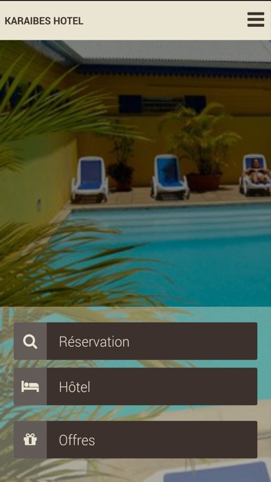 Karaibes Hotel - GuadeloupeCapture d'écran de 1