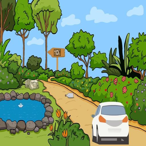 Forest Car Escape iOS App