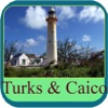 Turks and Caicos Islands Offline Map Travel Guide
