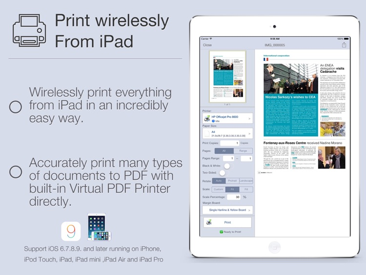 Quick Print for iPad by zhang weiru