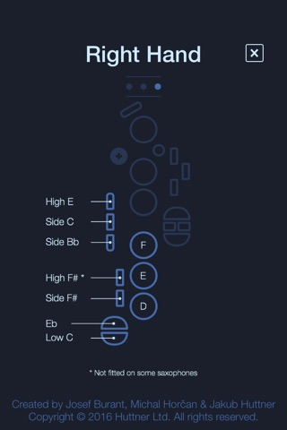 Alto Saxophone Fingering Chart screenshot 3