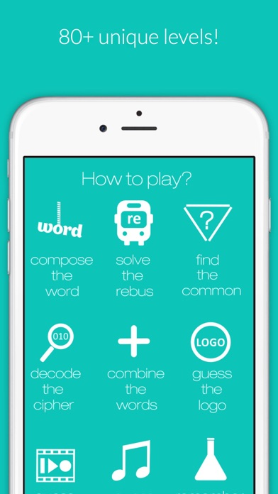 Picture Guess - rebus and puzzle word game Screenshot