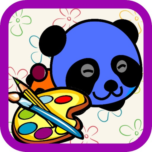 Coloring for Kids 4 - Fun Color & Paint on Drawing Game For Boys & Girls iOS App