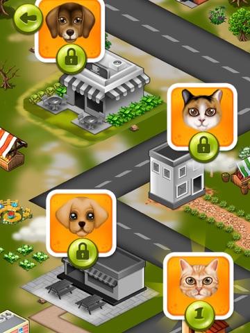 мыть и лечить домашних животных : помочь кошек и щенков ! Бесплатная игра для iPad