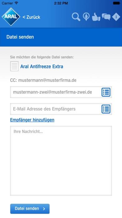 Screenshot von Aral Partner App4