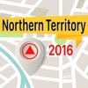 Northern Territory Offline Map Navigator and Guide map of northern india