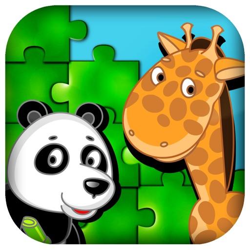 Kids Puzzle Animals iOS App