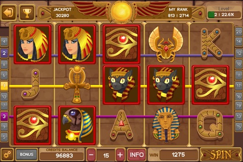 Egyptian Gem Slot screenshot 1