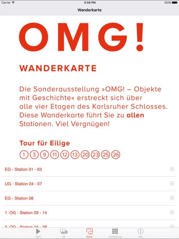 OMG! – Objekte mit Geschichte Screenshot