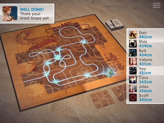 Screenshot #3 for Tsuro - The Game of the Path