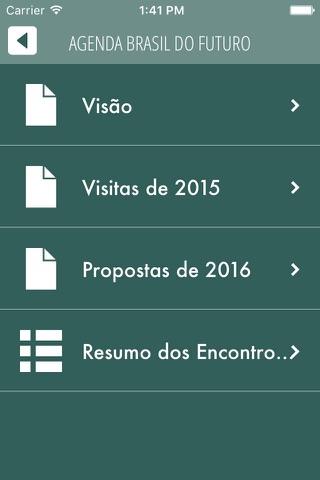 Agenda Brasil do Futuro screenshot 2