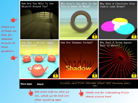 Science of Light Vol-1 Lite: Basic Physics Concepts by Learning Rabbit screenshot 1